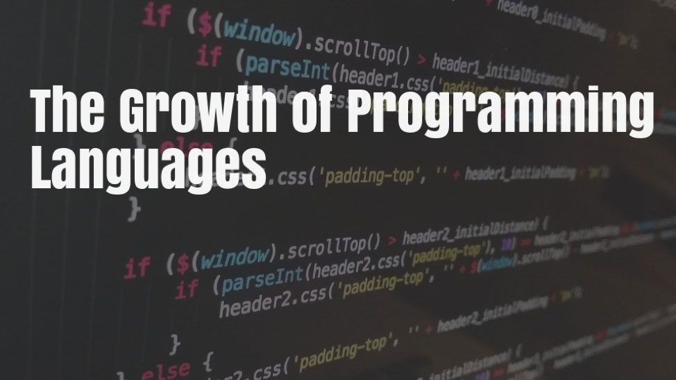 The Growth of Major Programming Languages