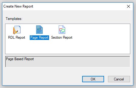 .NET Report Types
