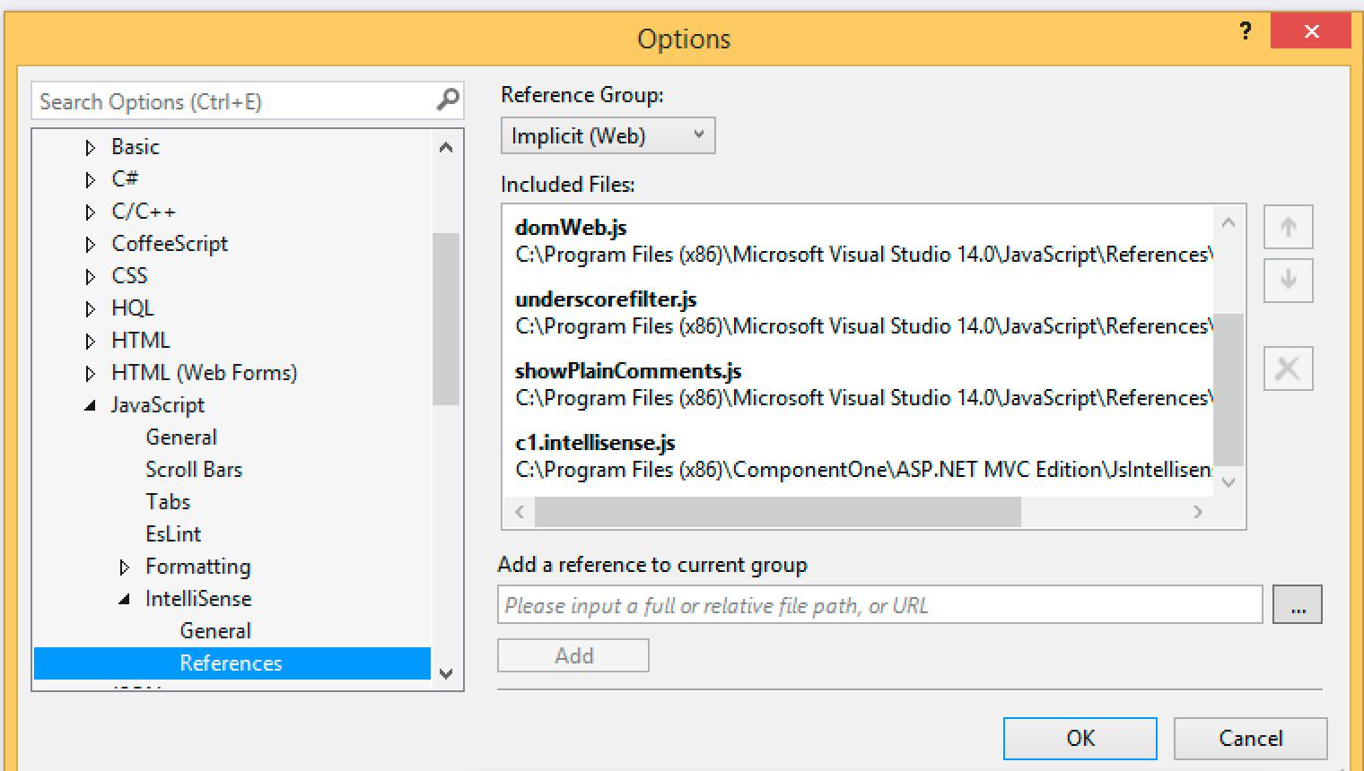 JavaScript IntelliSense improvement in ASP NET MVC Edition