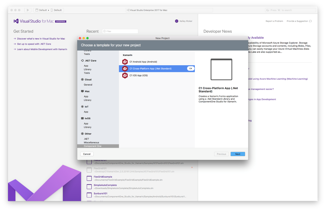 What's new in ComponentOne Studio for Xamarin 2018