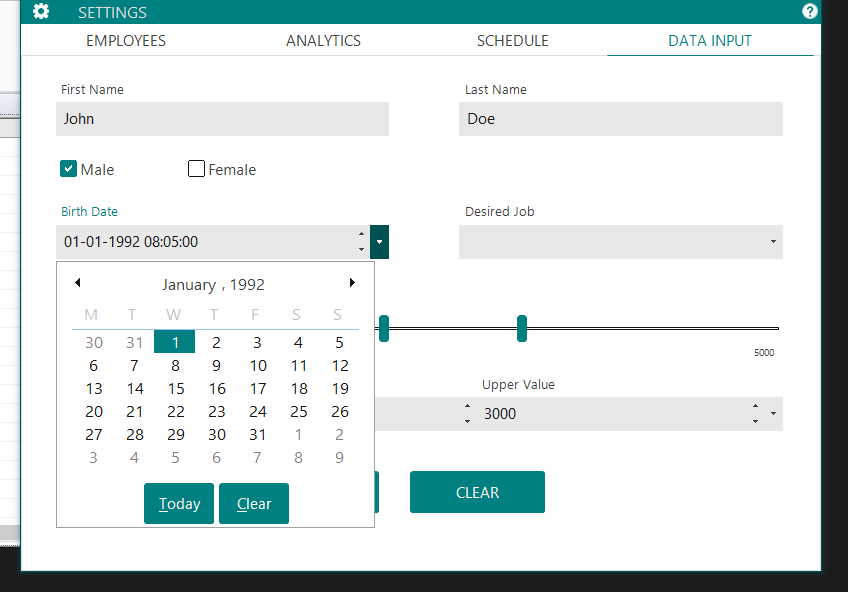 Winforms Ui Design Examples
