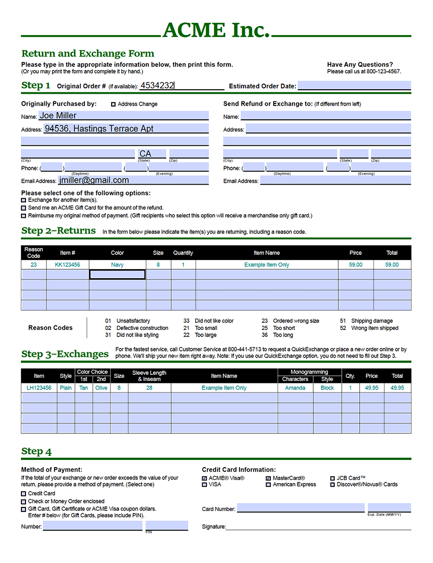 Create complete PDF forms