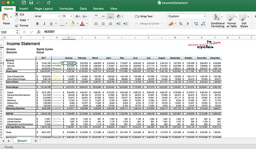 GrapeCity Documents for Excel, Java - Format your content