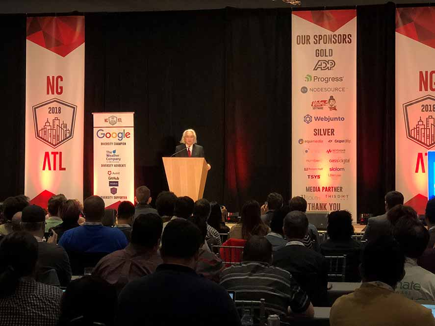 Legendary physicist Michio Kaku presents ngATL's keynote