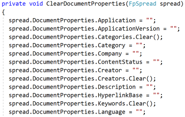 Document Properties