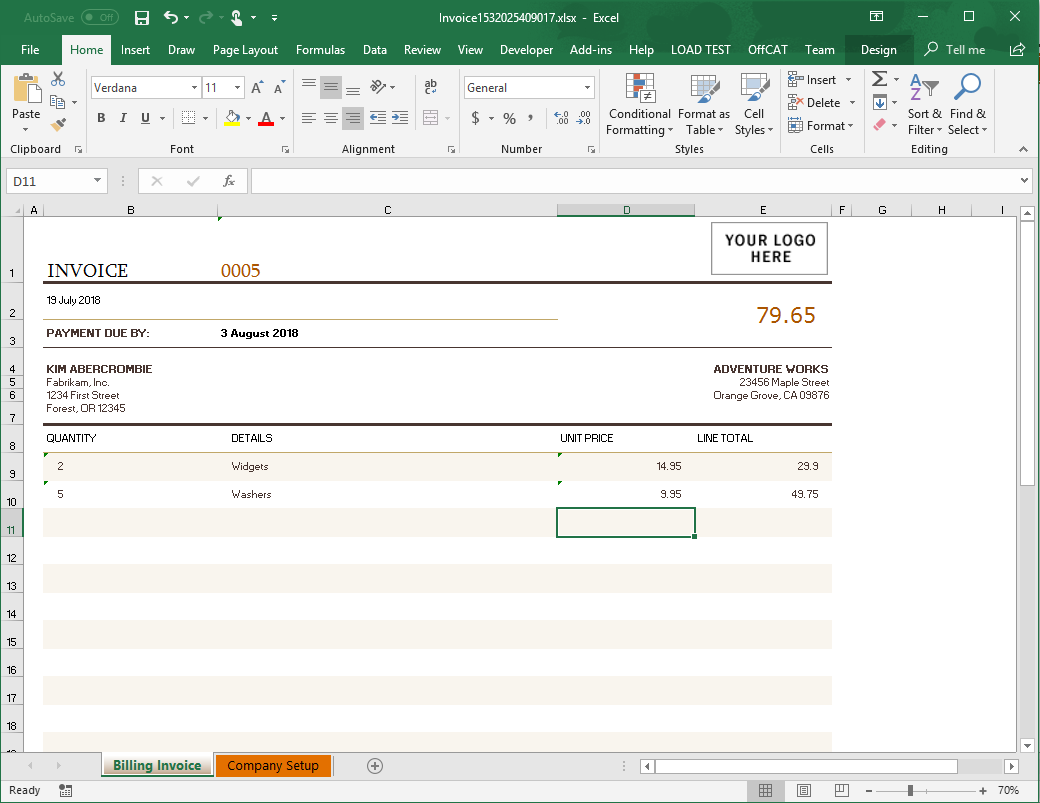 How to Generate an Excel Spreadsheet from your Node js