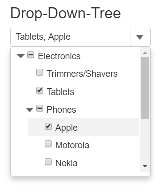 Drop-Down-Tree