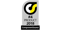 Spread.NET, 4 Product Award, ComponentSource
