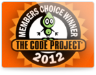 CodeProject Readers Choice Awards 2012