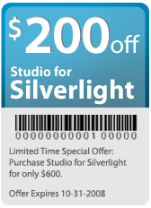 Silverlight Offer -$200 off!