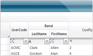 ComponentOne GridView for ASP.NET
