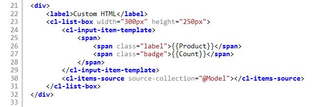 ListBox for ASP NET MVC | ComponentOne