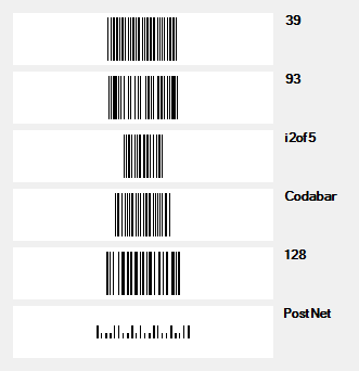 WinForms BarCode