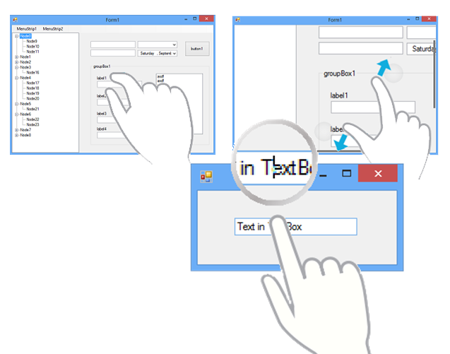 WinForms Touch Toolkit