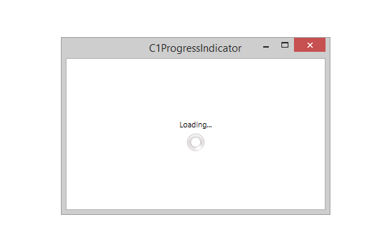 WPF Progress Bar