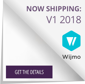 Get the details on the Wijmo release