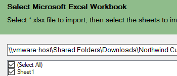 .NET Reporting Import Layouts from Excel