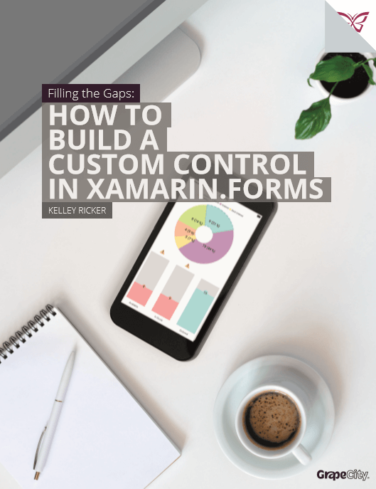 Xamarin How to Build a Custom Control in Xamarin.Forms