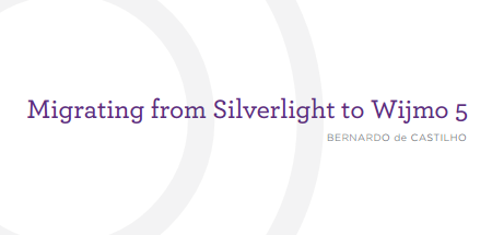 Migrate Silverlight to HTML5