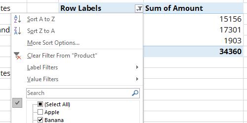 Excel API