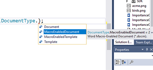Word API for .NET Core