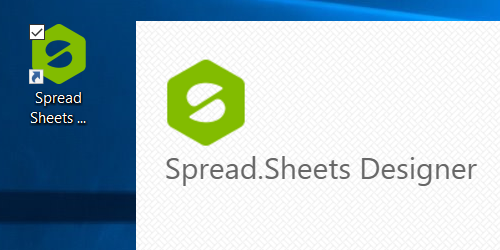 Spread Designer App for JavaScript spreadsheets