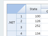 .NET Excel Spreadsheet Component Multiple headers