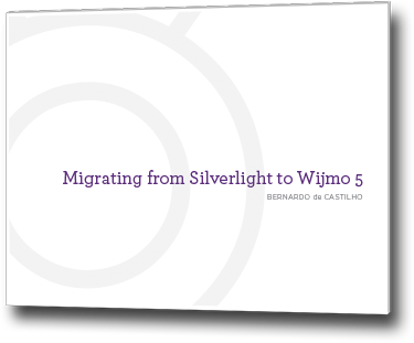 Migrate Silverlight Apps to Wijmo Core HTML5/JavaScript